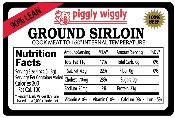 Piggly Wiggly 90% Lean Ground Sirloin